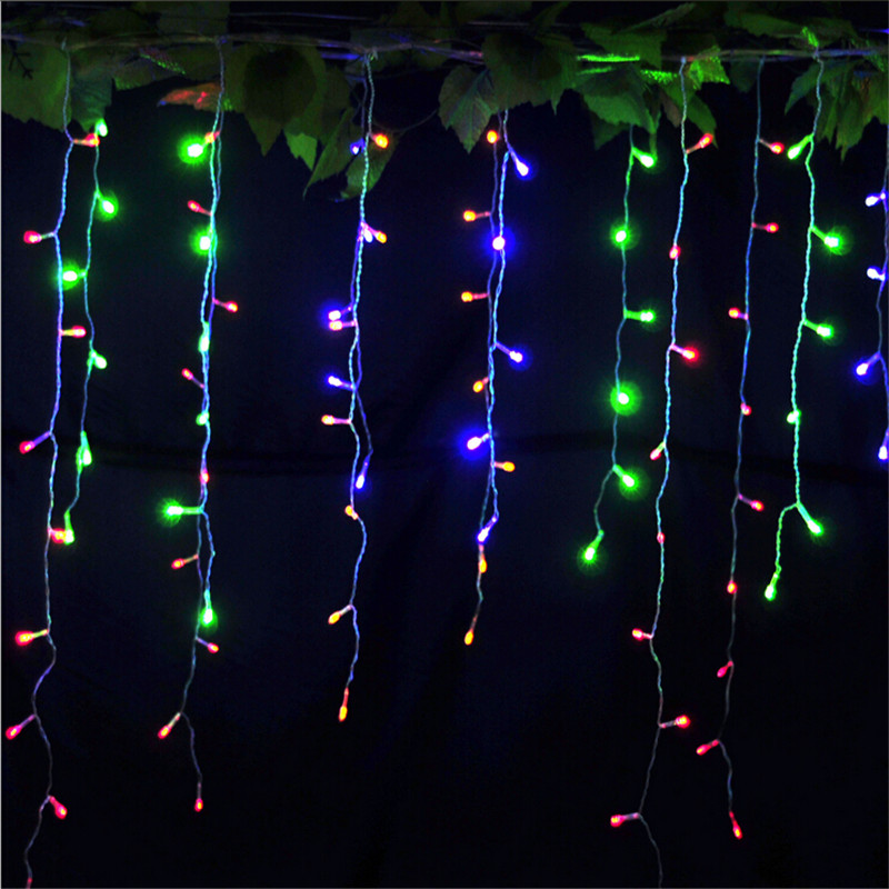 Led Garland String Lights : Christmas Decoration lights 3.5M 96leds Led string Light Christmas 110V/220V Wedding garland ...