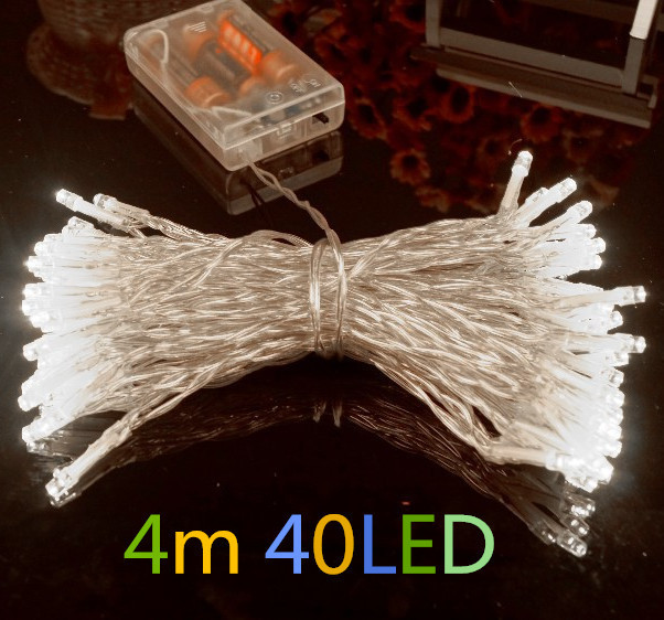 Outdoor Festival Christmas Decoration Led String Battery