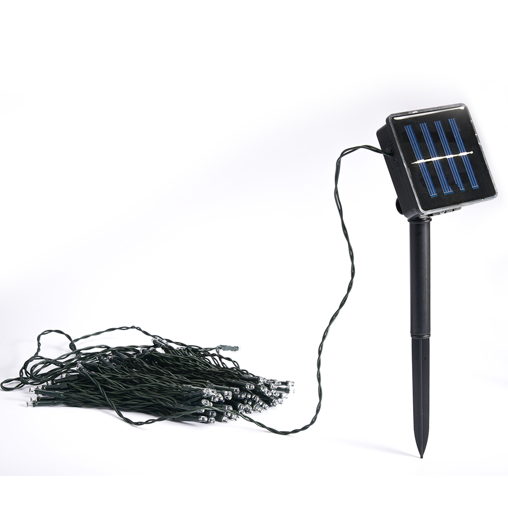 solar waterproof christmas lights 33ft 10m 50 led solar