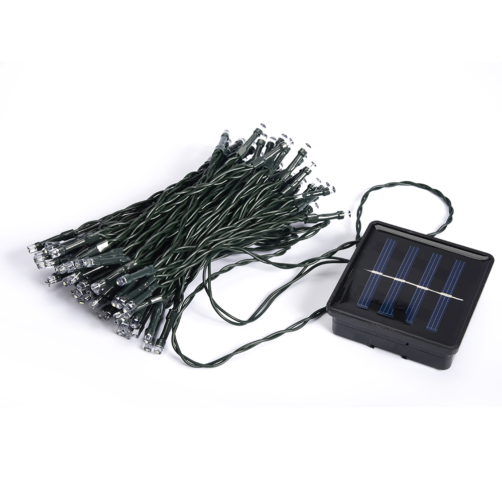 Solar Waterproof Christmas Lights 33ft 10m 50 Led Solar Fairy String Lights For Outdoor Christmas Party Decoration Lamp Cukii Online