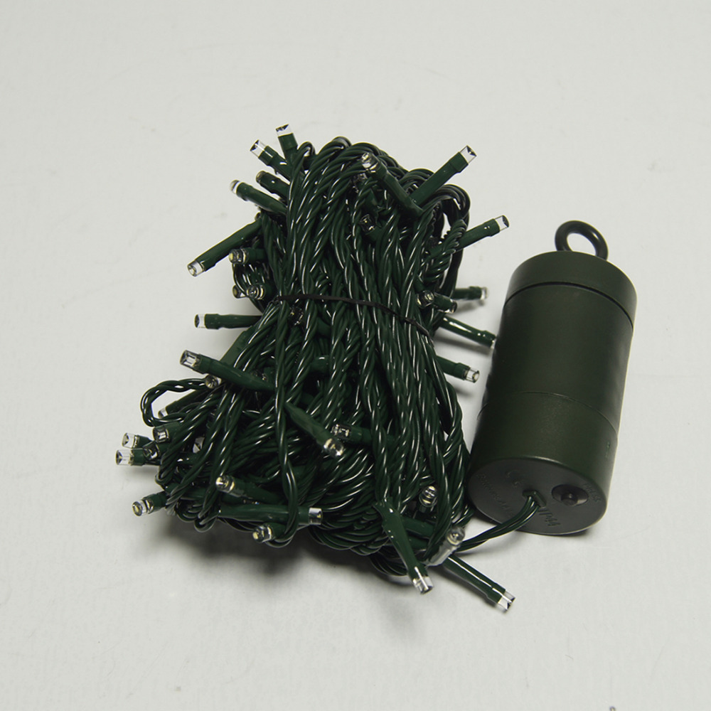 Blue Warm White Multicolor 40m 300 Led Battery Lights String Fairy Outdoor Garden Waterproof