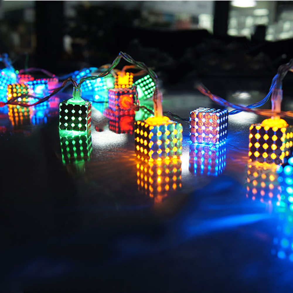 Festival Party String Lights : Brand New Magic Dream Color Box 20 Square LED Festival String Light Fairy Lights Christmas Xmas ...