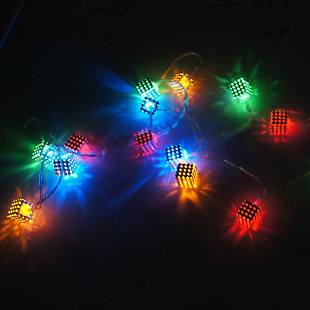 Brand New Magic Dream Color Box 20 Square Led Festival String Light
