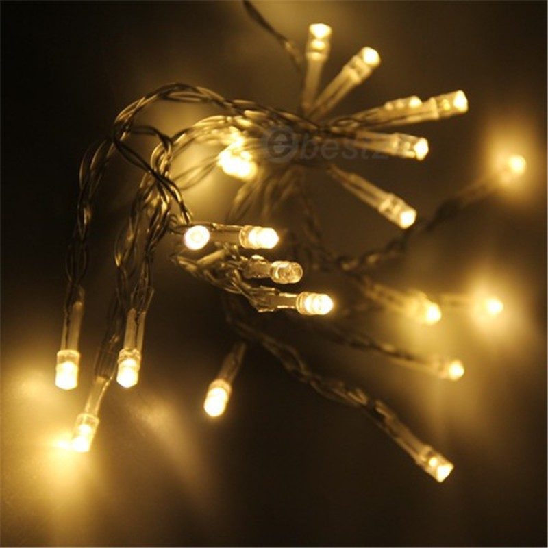 Led battery light m leds christmas string