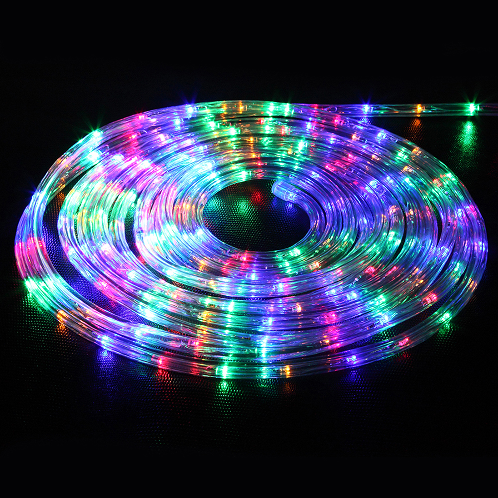Led String Lights Reject Shop: 32.8ft LED Flexible Rope Light 220V String Kit For Home