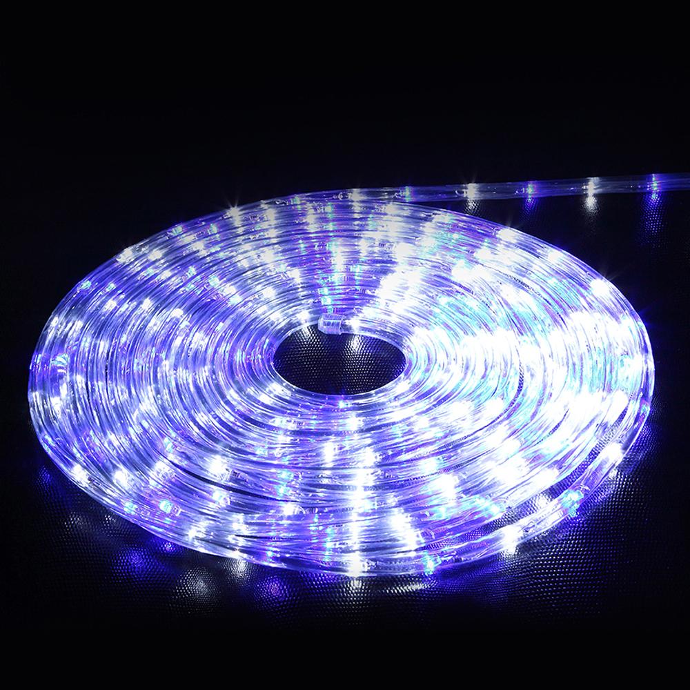 32.8ft LED Flexible Rope Light 220V String Kit For Home