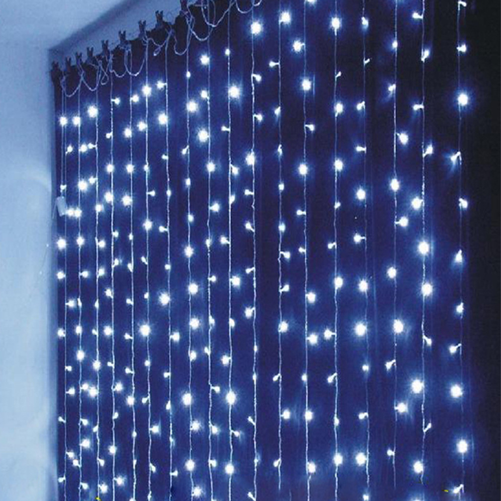 220v 110v 6m Width X 3m Height 600 Led String Lights