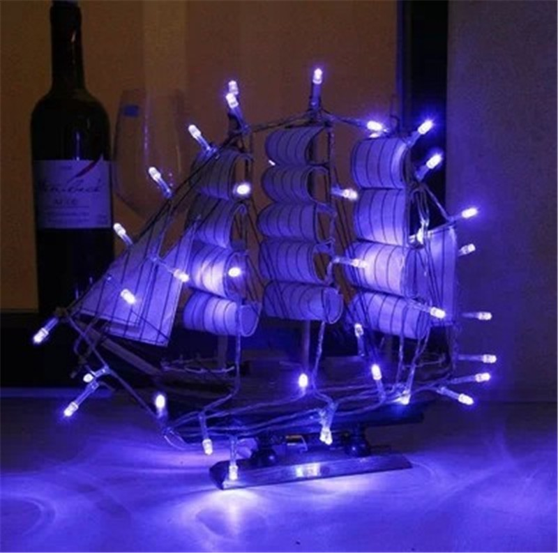 hot sale led string 20 2m 20led 3 aa batteries powered string lights for weddings holiday. Black Bedroom Furniture Sets. Home Design Ideas