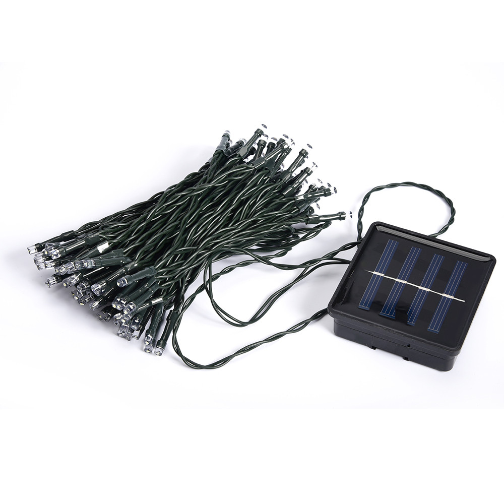 Solar Christmas Lights 72ft 22m 200 LED Solar Fairy String Lights for Outdoor Gardens Homes Wedding Christmas Party Waterproof