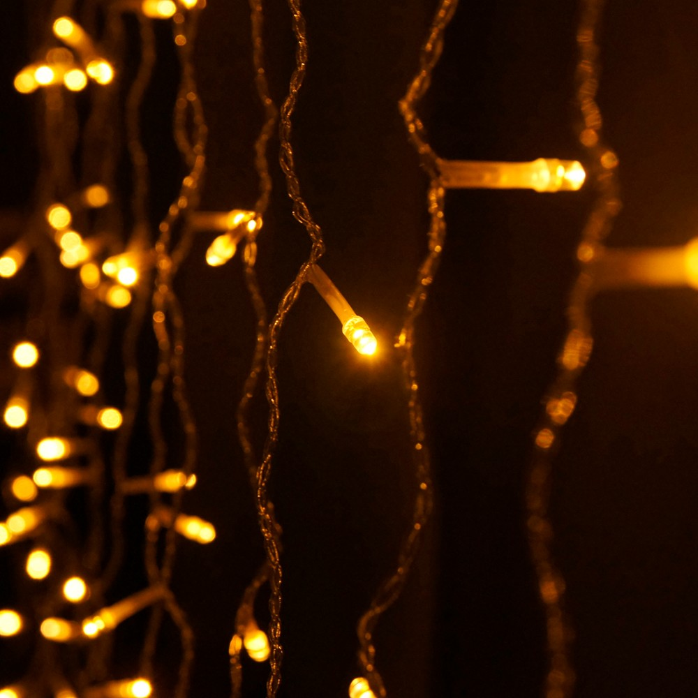 3Mx3M 300 LED Copper Wire String Lights IP65 Christmas Decorative Wedding Xmas String Fairy Curtain Garlands Party Lights