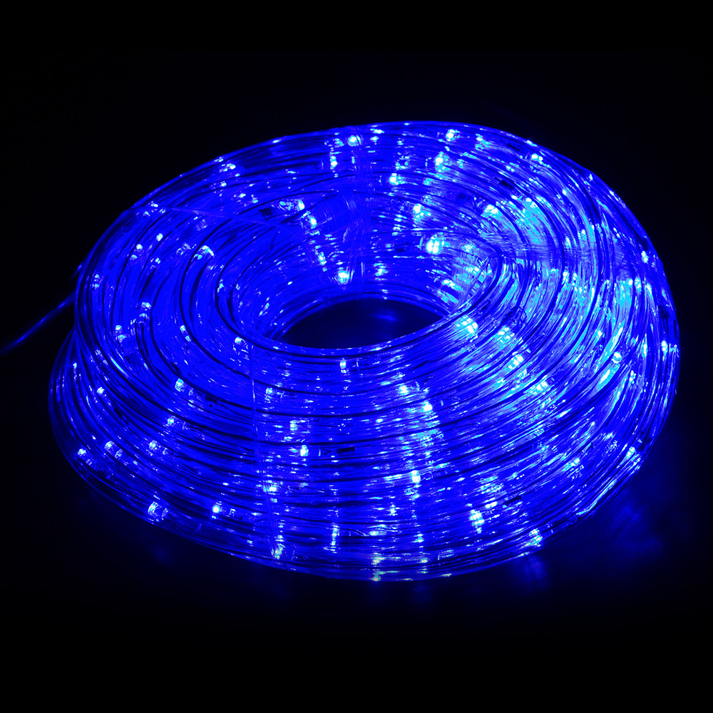 10M led string lights AC220V Blue Rope Lamps for Decorating Stairways Railings Ceilings Desks Windows Boats Clubs Parties