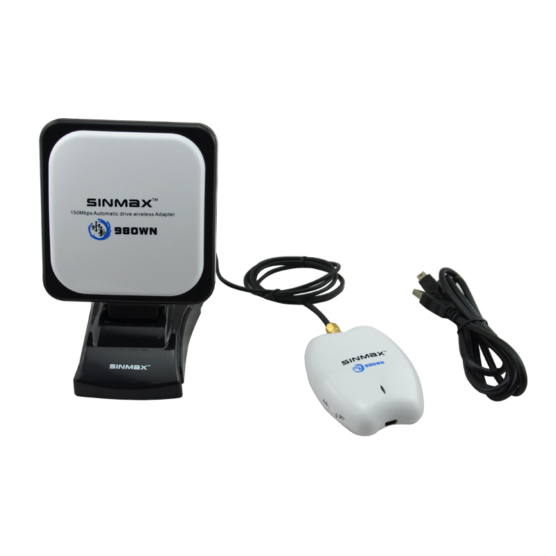 High power RALINK 3070L 2.4GHz wifi adapter Sinmax SI-7300NA sky ...