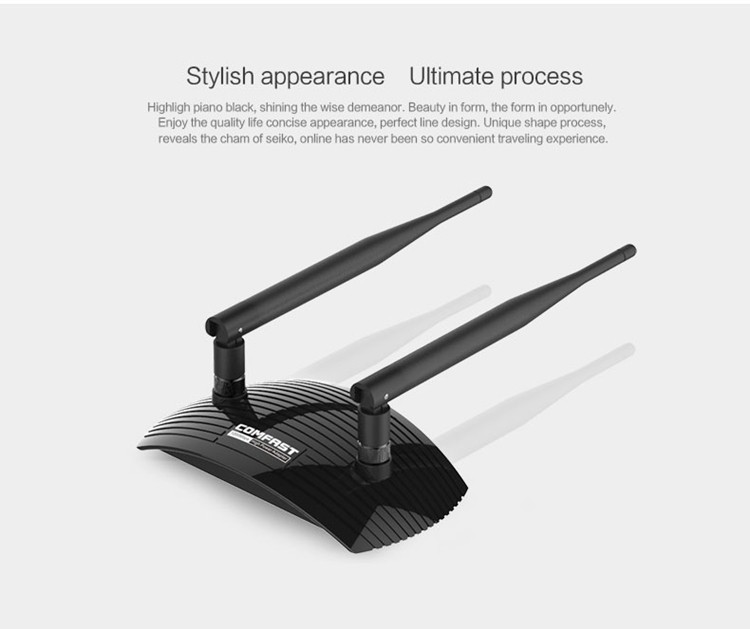 Dual high gain 6dBi Antenna Up To 1200M 802.11AC laptop Dual Band 2.4Ghz 5Ghz USB Wireless WiFi AC Adapter
