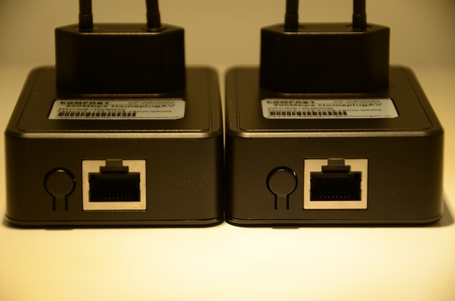 200Mbps PLC Powerline adapter mini homeplug av