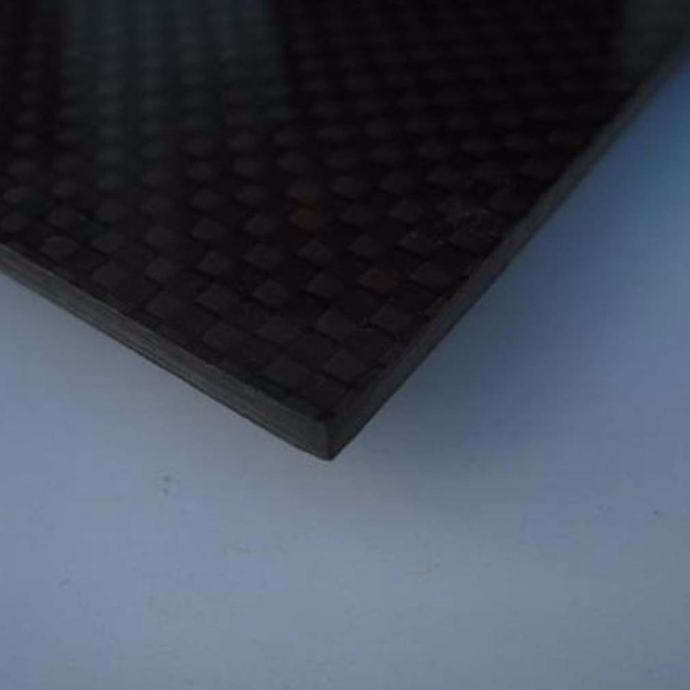 Carbon Fiber Plate 200*300*0.5mm With 100% Real Carbon
