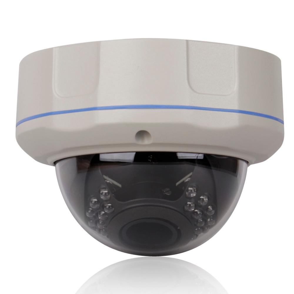 P2p 1920x1080 1080p Ir Night Vision Indoor Dome Network Ip