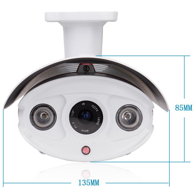 1080p Hd Outdoor Waterproof Poe Ip Camera Cctv Onvif H 264