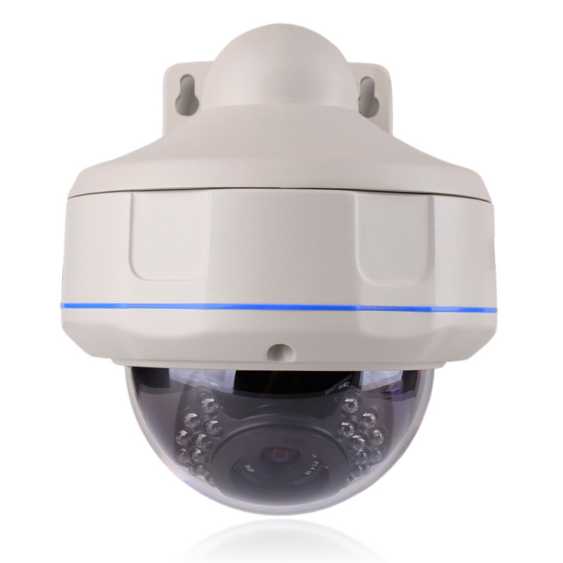 1080p Full Hd Outdoor Waterproof Dome Ip Poe Camera
