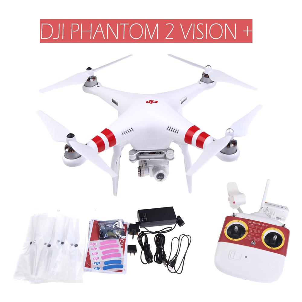 NEW DJI Phantom 2 Vision + PLUS FPV Quadcopter GPS DRONE 3D Gimbal