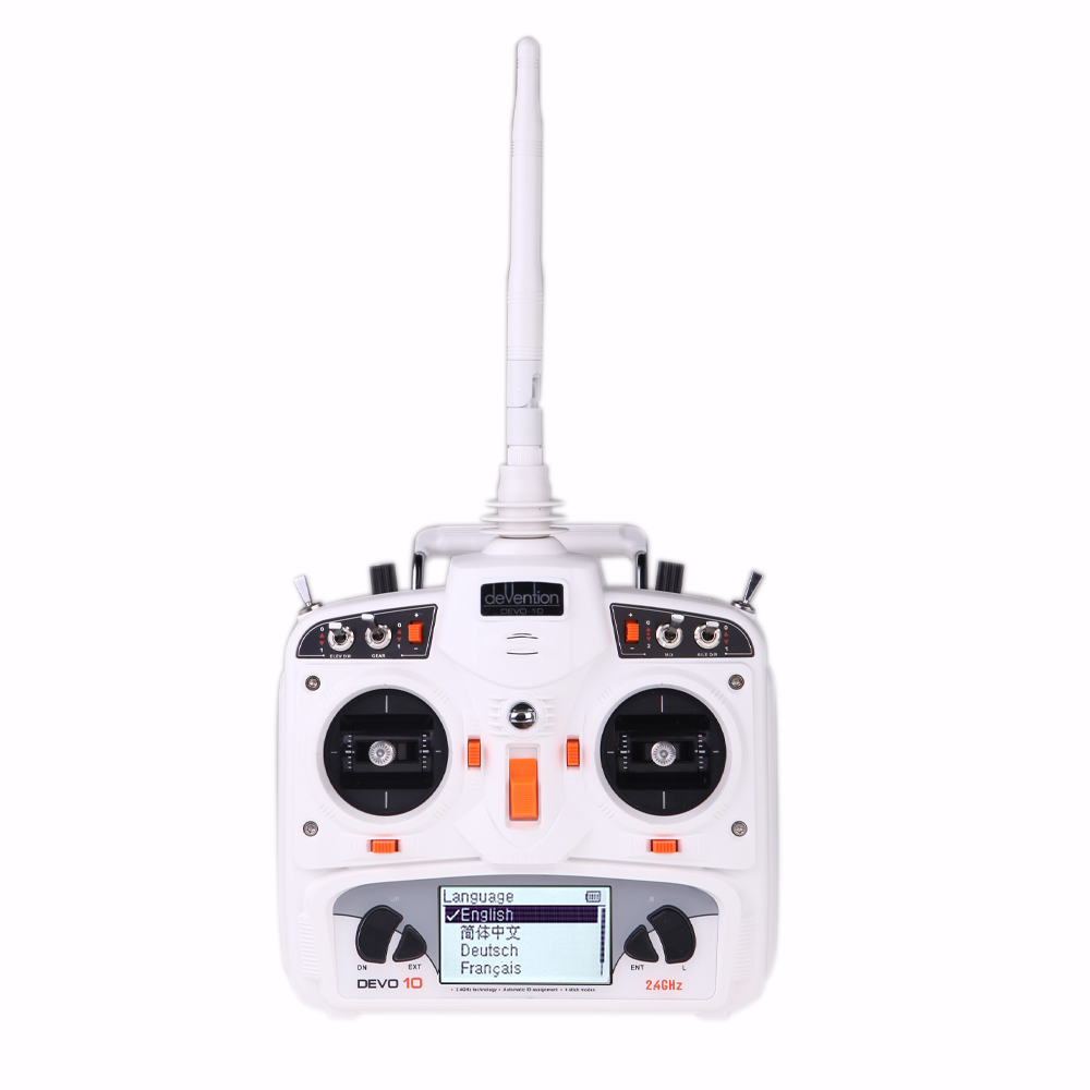 Professional Rc Transmitter Walkera Devo 10 10ch 2 4ghz