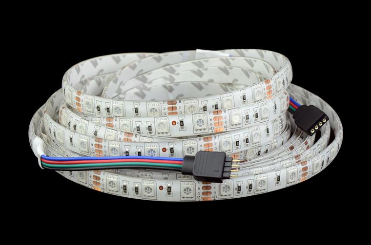 5m Ip65 Waterproof 5050 Rgb Led Strip 12v 60 Led M