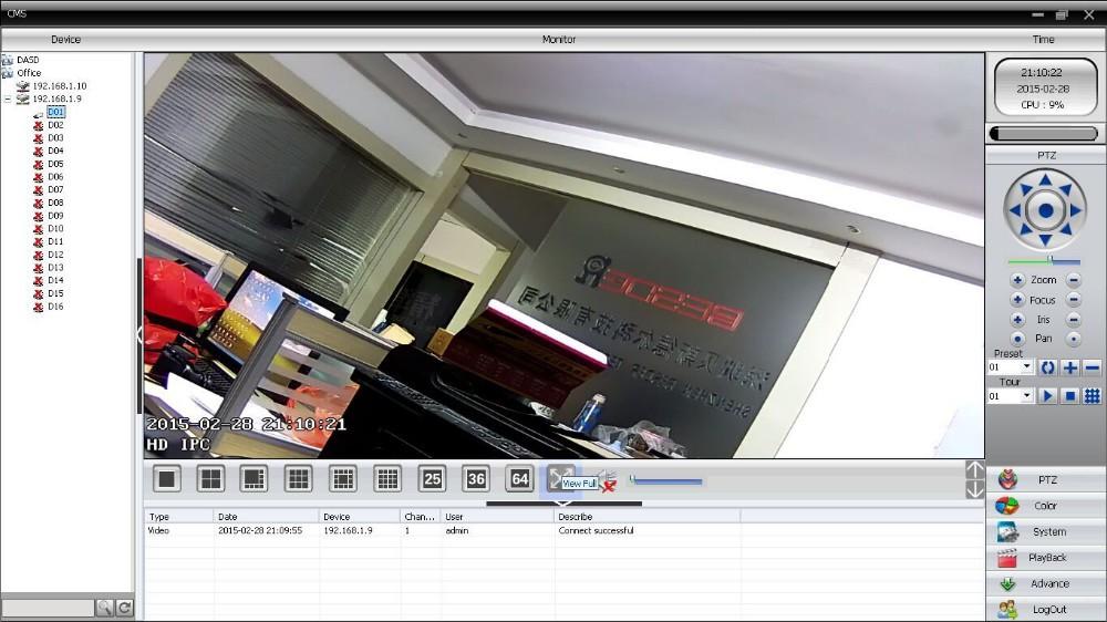Motion Detect CCTV DVR 8 Channel 8CH 5MP/ 16CH 3MP CCTV DVR For 5MP