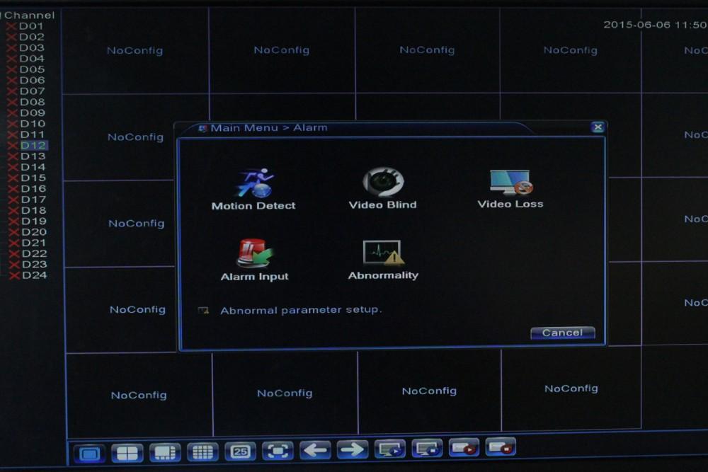 FULL HD 24 Channel 1080P CCTV NVR 32CH 960P NVR 2 SATA HDD