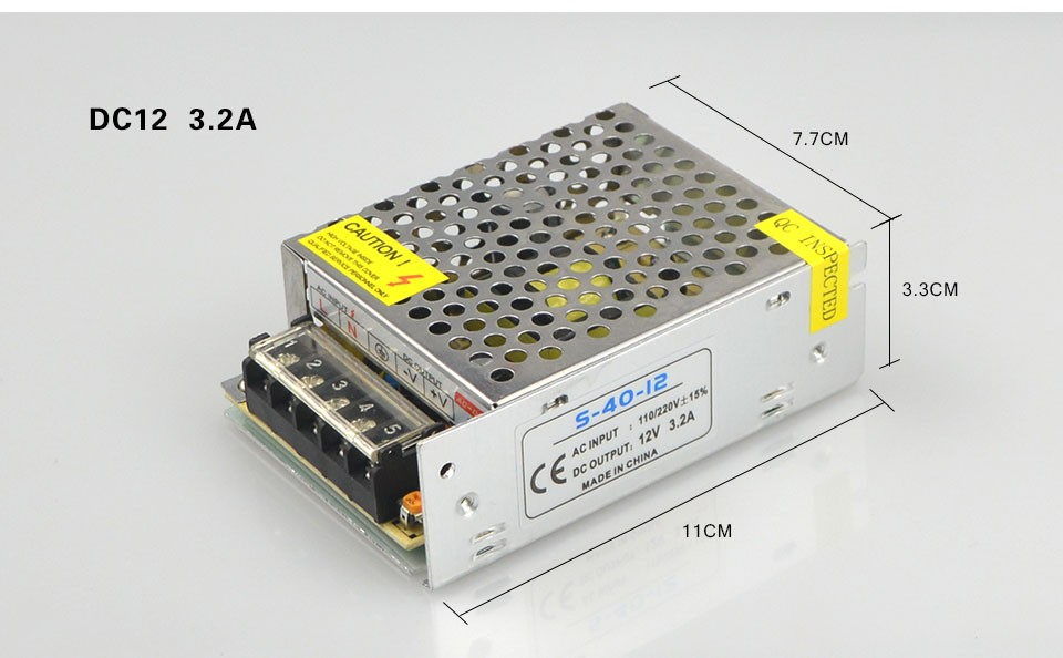 DC12V 1A 2A 3A 5A 8.5A 10A 15A 20A 30A lighting Transformers LED Driver Power Adapter For LED Strip light Switch Power Supply