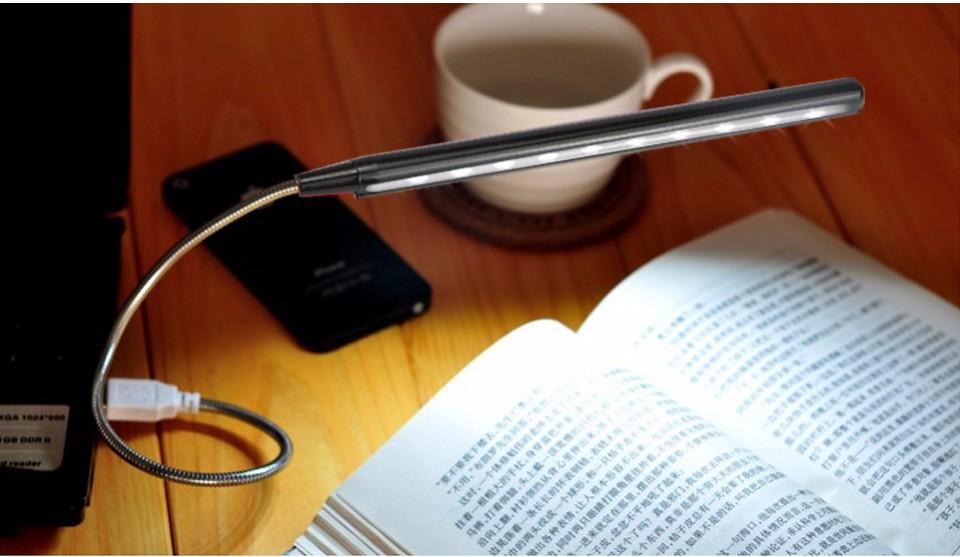1pcs Usb Led Night Light Led Book Light New Flexible Ultra