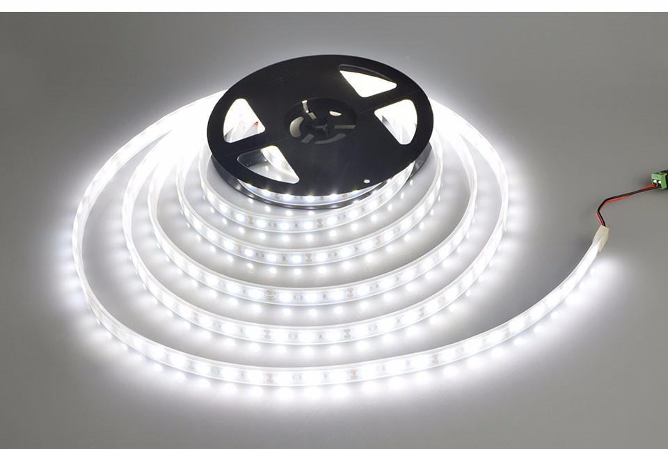 Ip67 Waterproof Dc12v 5m Smd 5050 Rgb Led Strip Light