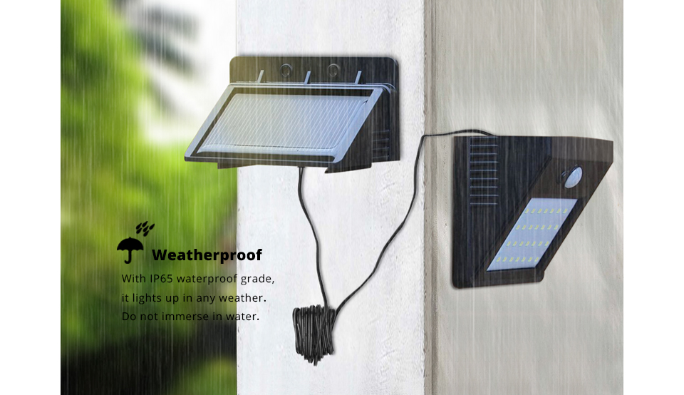 Pir Motion Sensor 3modes Separable Led Solar Light Novelty