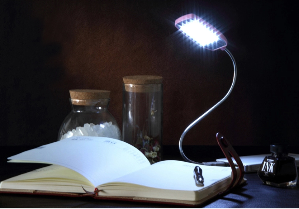 Mini Led Lamp Usb Led Book Light Reading Light Colorful