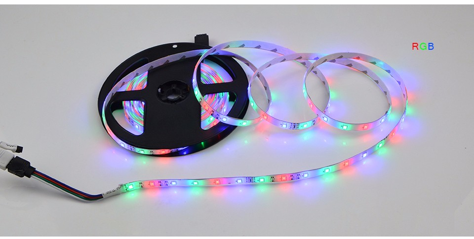 Dc12v Rgb Warm White Led Strip 3528 2835 Smd 60 Led M
