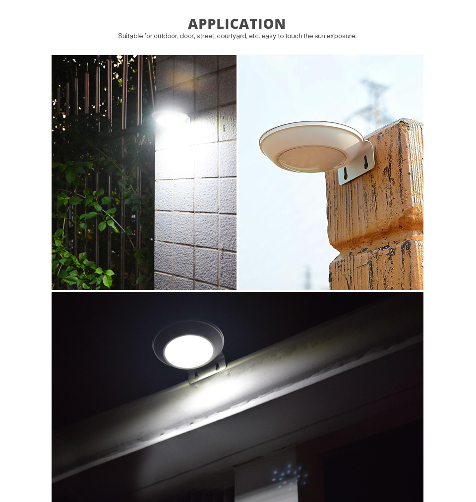 LED senor night light bulb lamp Radar Motion Sensor solar light Outdoor Lighting waterproof Wall Lamp Security Spot Lighting