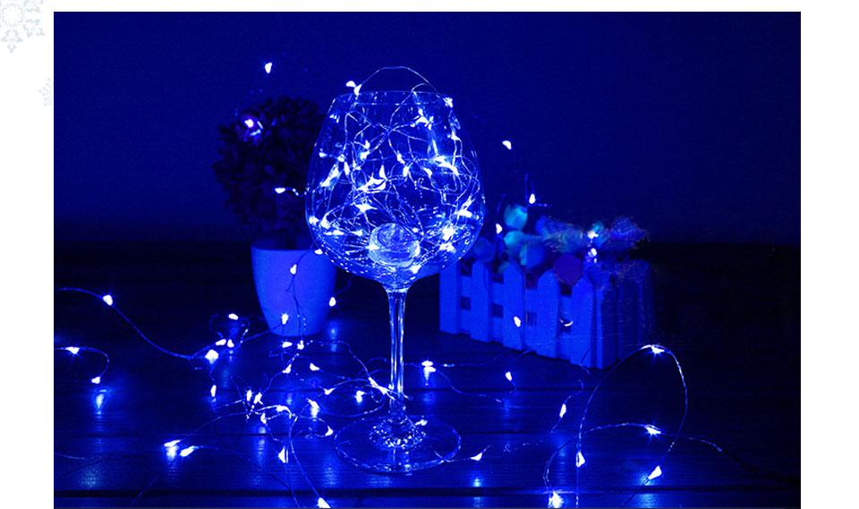 2m 5m Holiday Decoration Lights Led Strip Light Powered