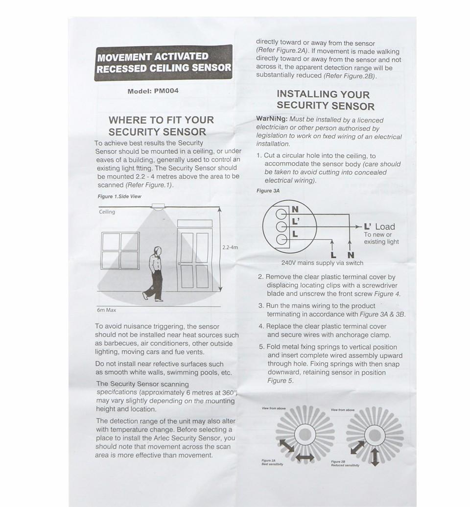 110v 220v Ceiling Pir Infrared Body Motion Sensor Detector Lamp Automatic Door Light Switch Dimmer Circuit For Bulbs Lampholder Led