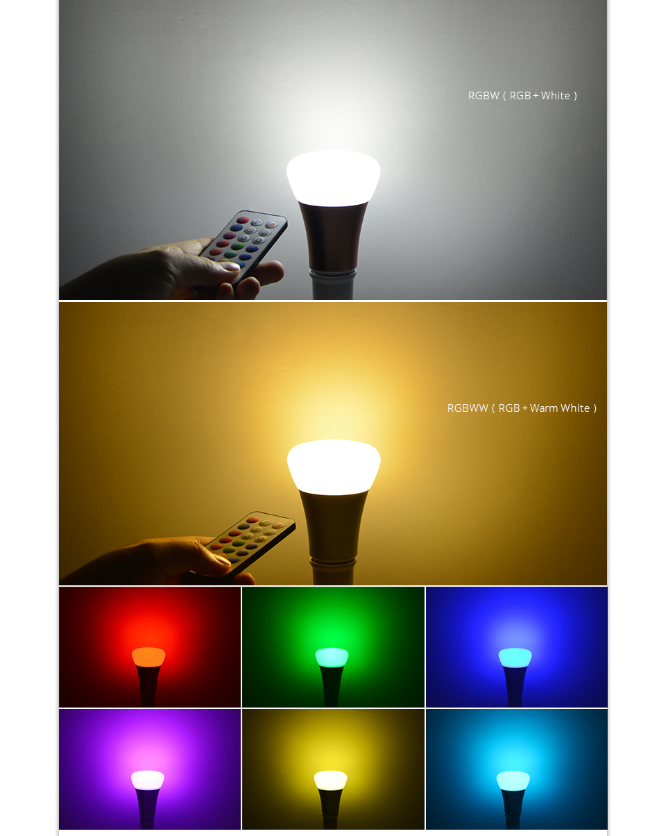 Rgb led lamp 110v 220v e27 10w rgbw rgbww led bulb aluminum led rgb led lamp 110v 220v e27 10w rgbw rgbww led bulb aluminum led light home lighting parisarafo Image collections