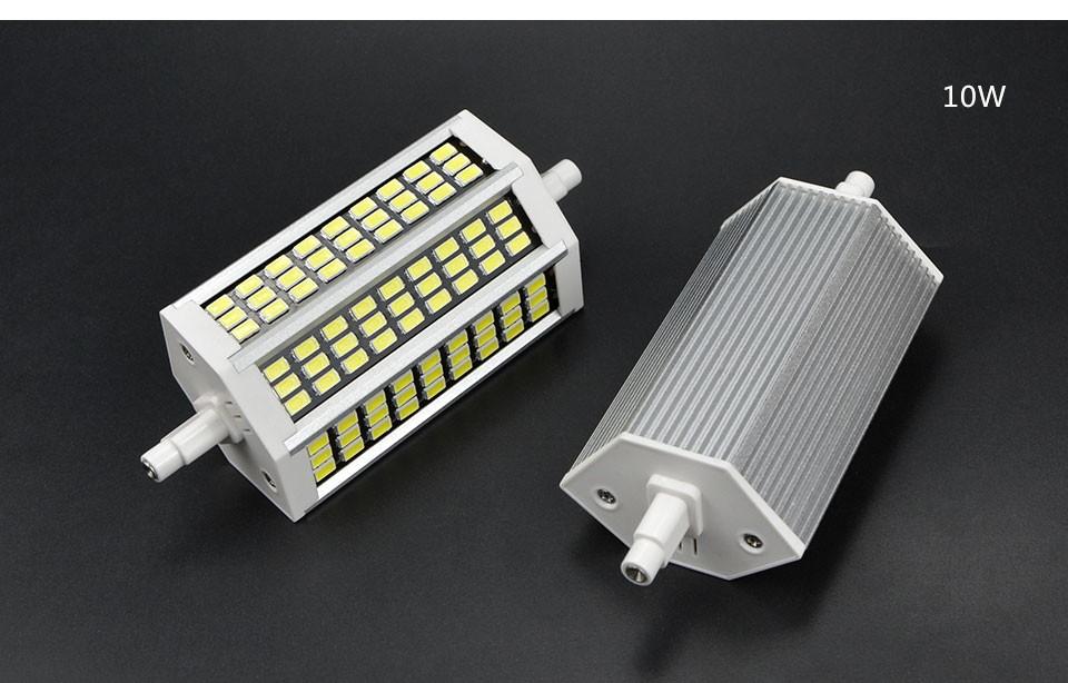 220v 5w 10w 13w 20w 78mm 118mm 135 189mm high lumen for Led r7s 78mm 20w