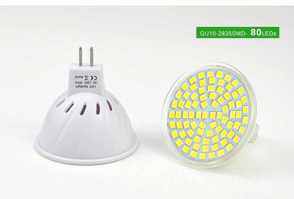 Glass Plastic Spot Light Mr16 Gu5 3 Led Bulb 220v Led