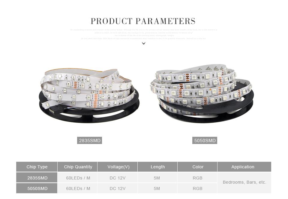 ip20 no waterproof dc 12v 5m    10m 3528 smd    5050 smd rgb led strip light led tape   24key