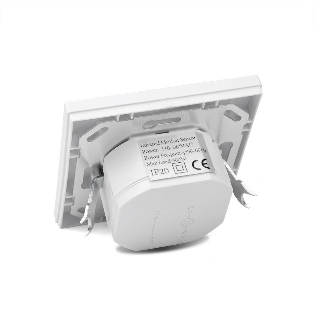 Ac 110v 240v Pir Sensor Ir Infrared Motion Sensor Light