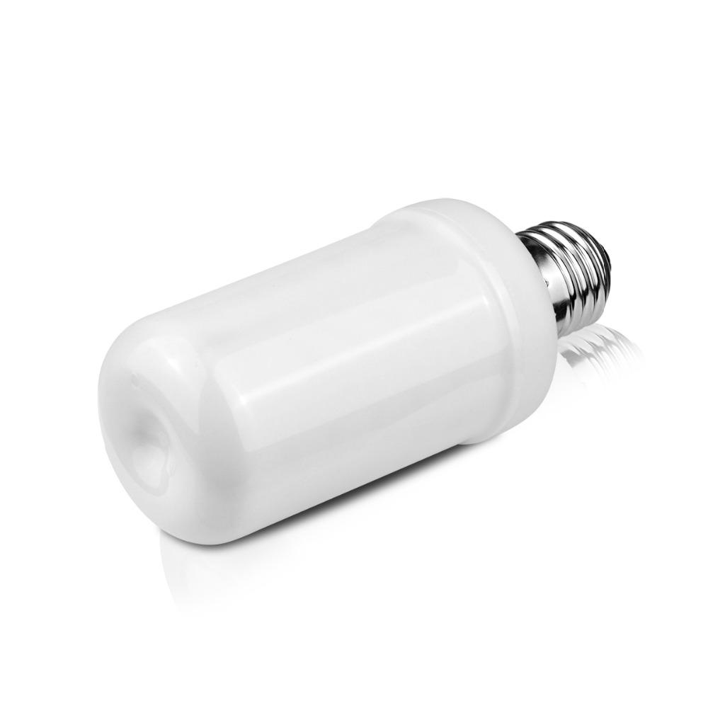 110v 220v e27 e26 led lamp fire flame effect led bulb light emulation fire flicker burning. Black Bedroom Furniture Sets. Home Design Ideas