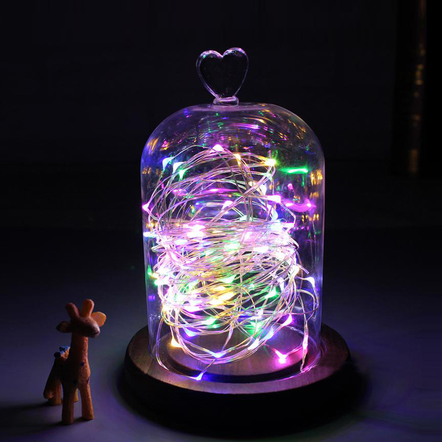 M led home decoration holiday light fairy string