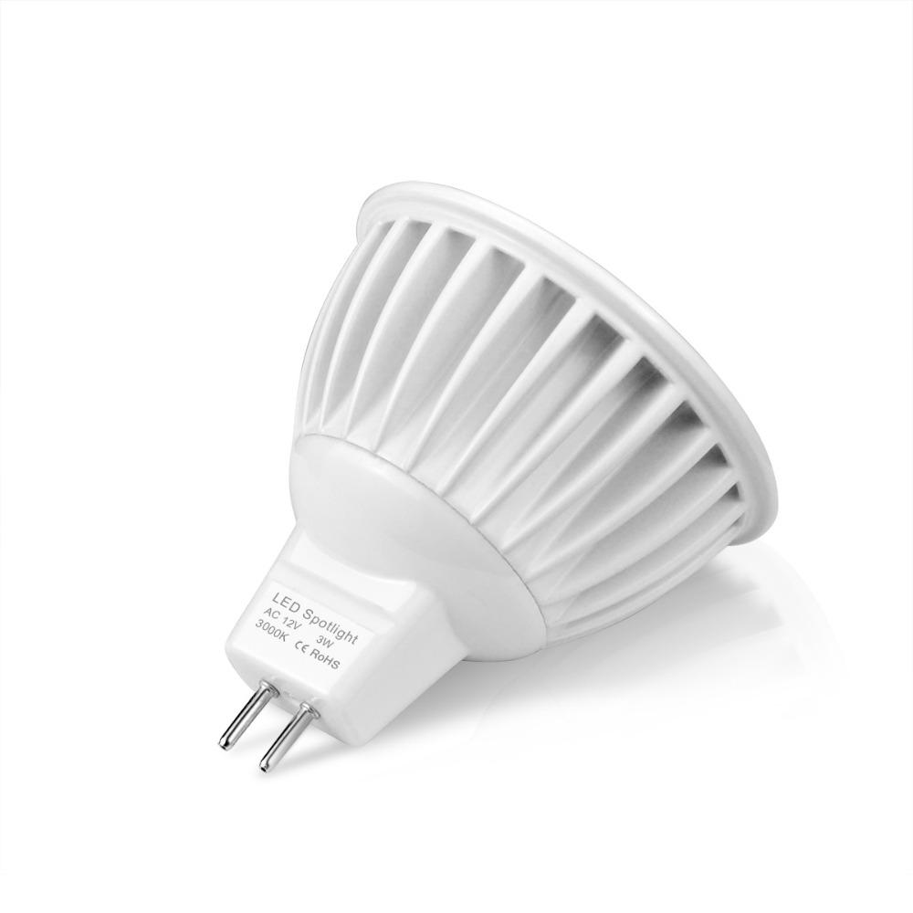 Dimmable Ac Dc 12v Mr16 Cob Led Spotlight 3w 5w 7w Led Light Led Bulb Led Lamp Indoor Lighting