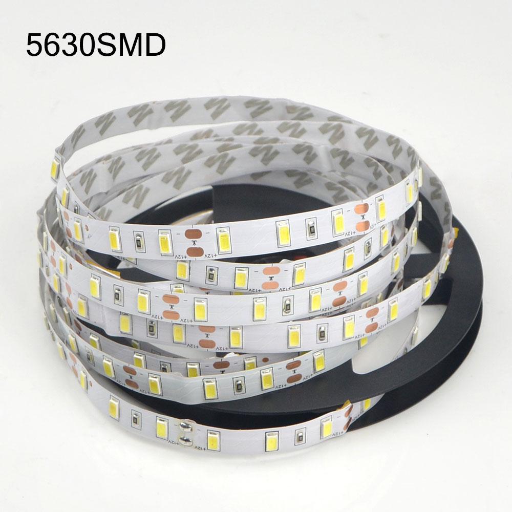 5m Smd 2835 5630 5050 Rgb Led Strip Light Dc 12v 60leds  M