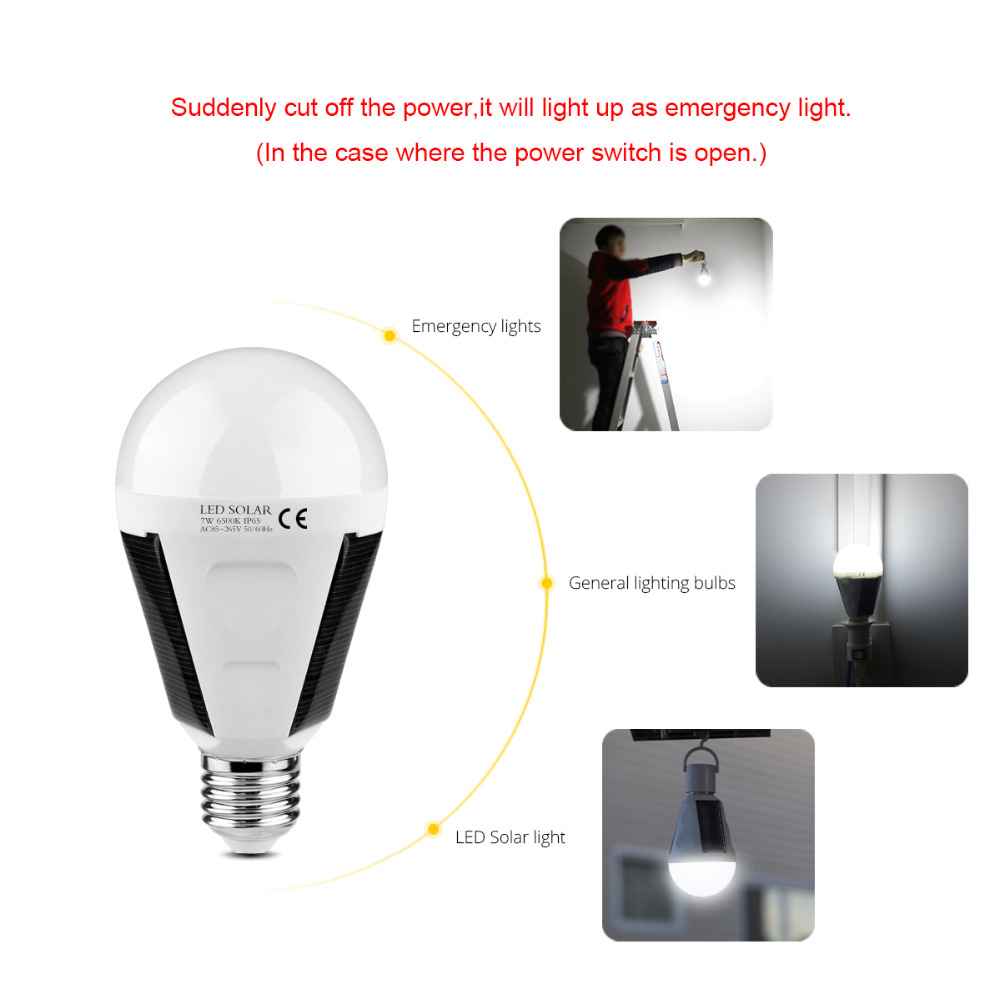 led sensor bulb e27 7w 12w 220v 110v led smart charge emergency lamp portable outdoor solar. Black Bedroom Furniture Sets. Home Design Ideas