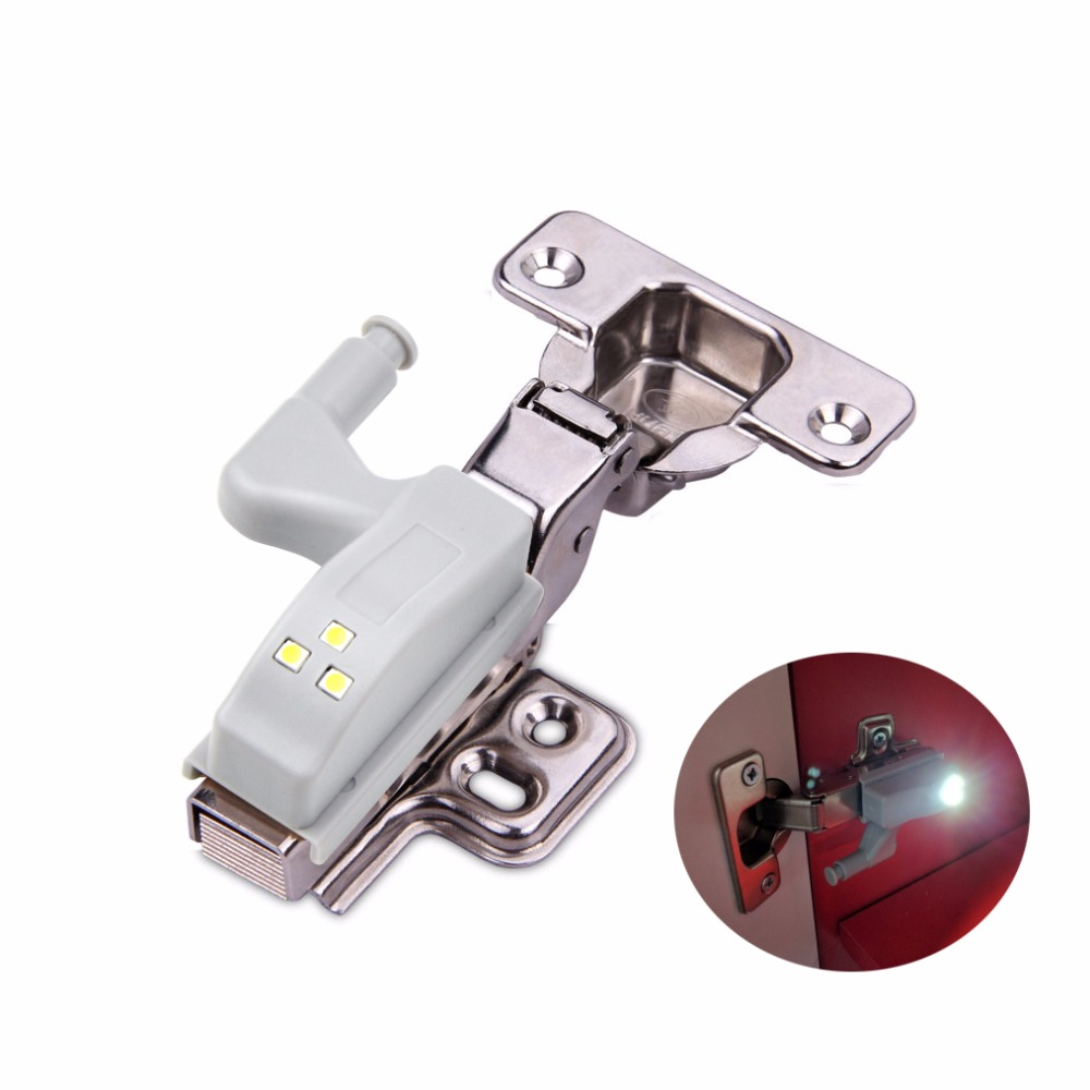 10pcs Led Hinge Night Light Universal Inner Hinge Led