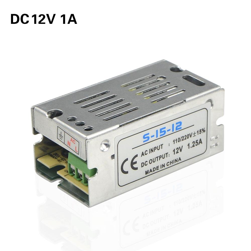 100v 265v To Dc12v 1a 15w Switch Power Supply Adapter