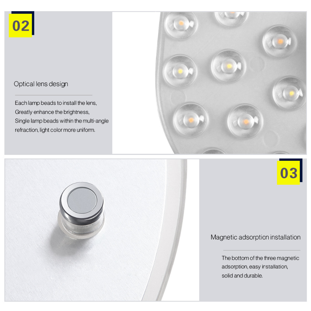 Switch Dimming Led Ceiling Downlight Module 24w 32w 220v Dimmer Lamp Source Plate Replace 40w 50w Cfl Fluorescent Tube Bulb