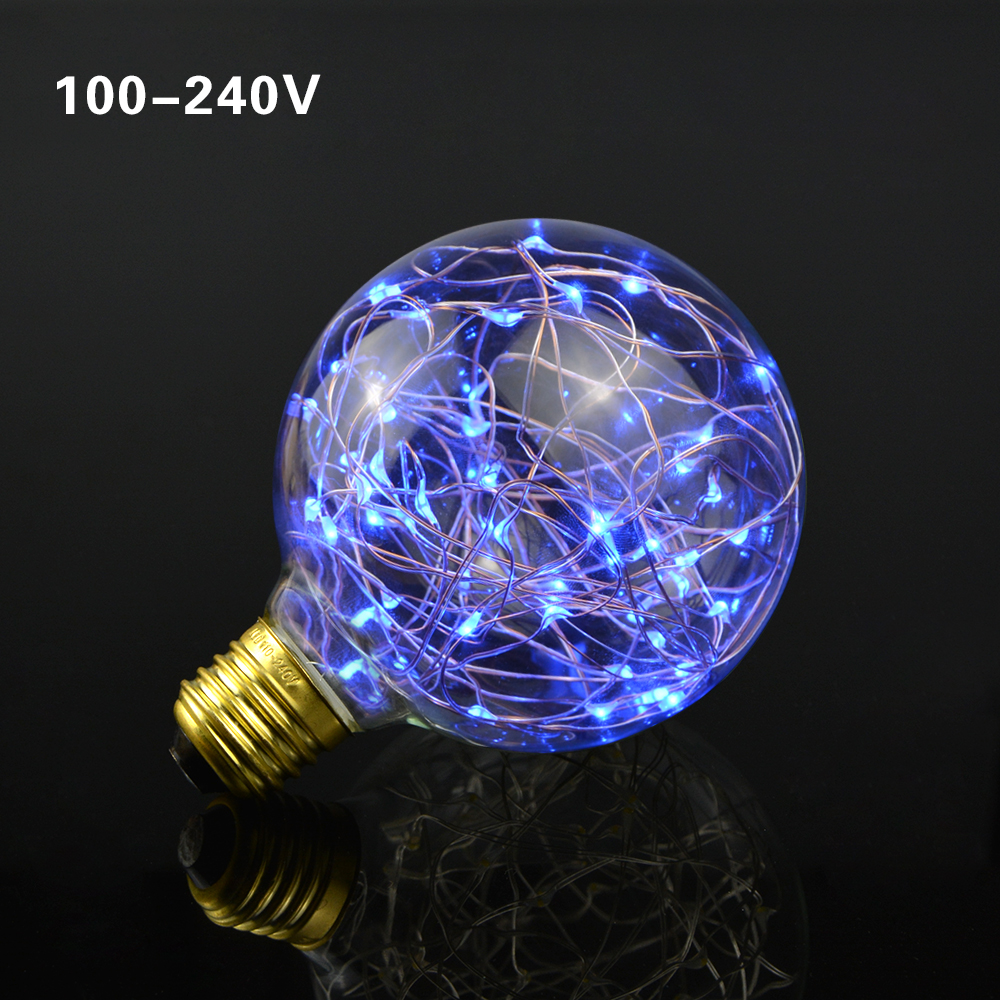 110v 220v led lamp e27 led night light string lights filament bulb g95 holiday lights christmas. Black Bedroom Furniture Sets. Home Design Ideas